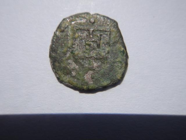 monnaie transalpine .  Quatre Deniers du Duché de Milan 1607 , atelier de Genova  Dsc03325