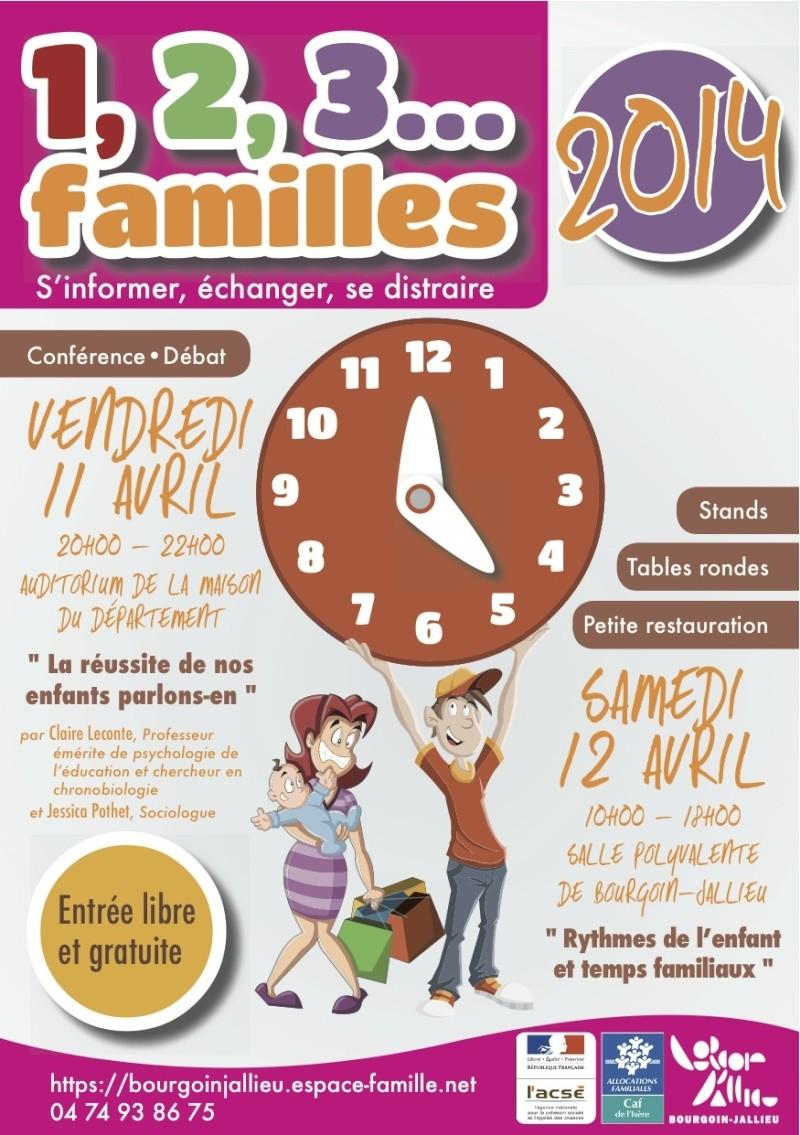Journée 1,2,3 Familles 2014 à Bourgoin 1-2-3-10