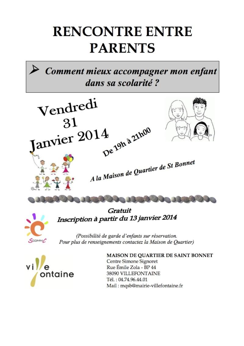 Conférence à Villefontaine - 31/01 : accompagner la scolarité Scommc10