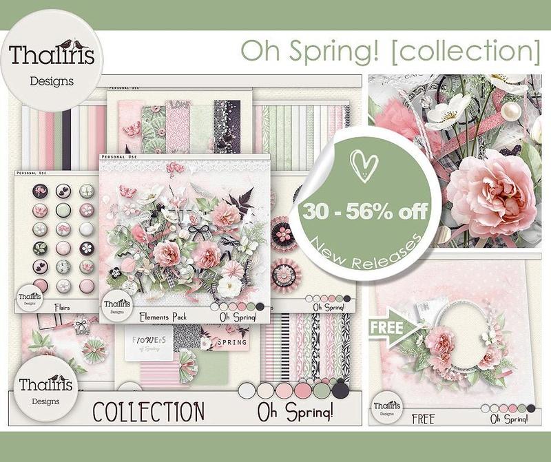 """Collection """"Oh Spring!"""" de Thaliris Designs 210"""