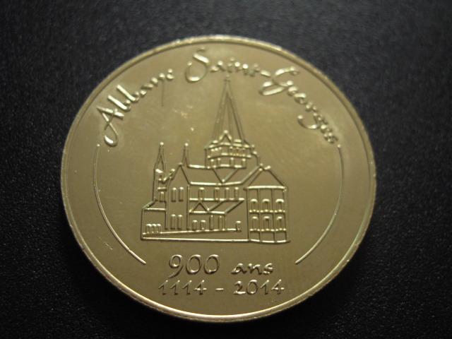 2014 - Abbaye Saint-Georges-de-Boscherville Medala11
