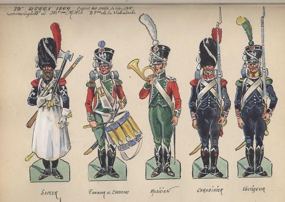 Règlement d'infanterie premier empire 91950110