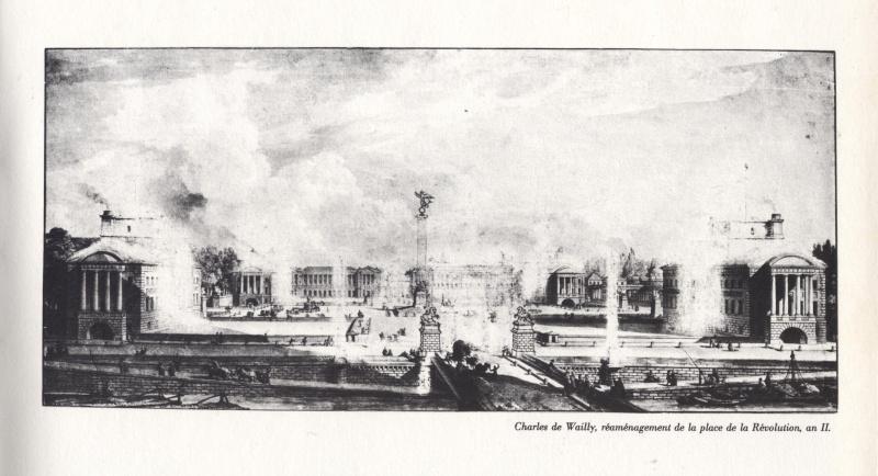 La place Louis XV, puis place de la Révolution, puis place de la Concorde au XVIIIe siècle 00333f10