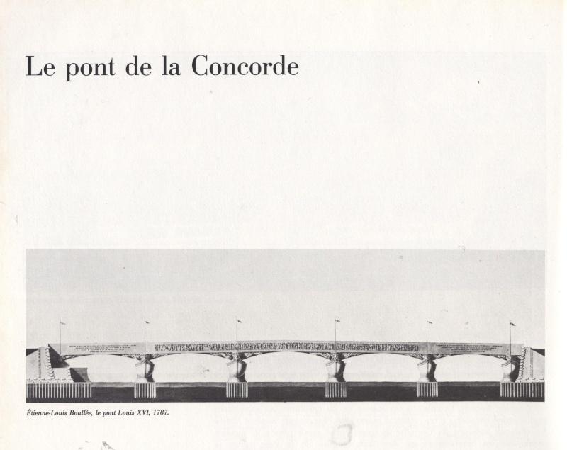 La place Louis XV, puis place de la Révolution, puis place de la Concorde au XVIIIe siècle 00429t10