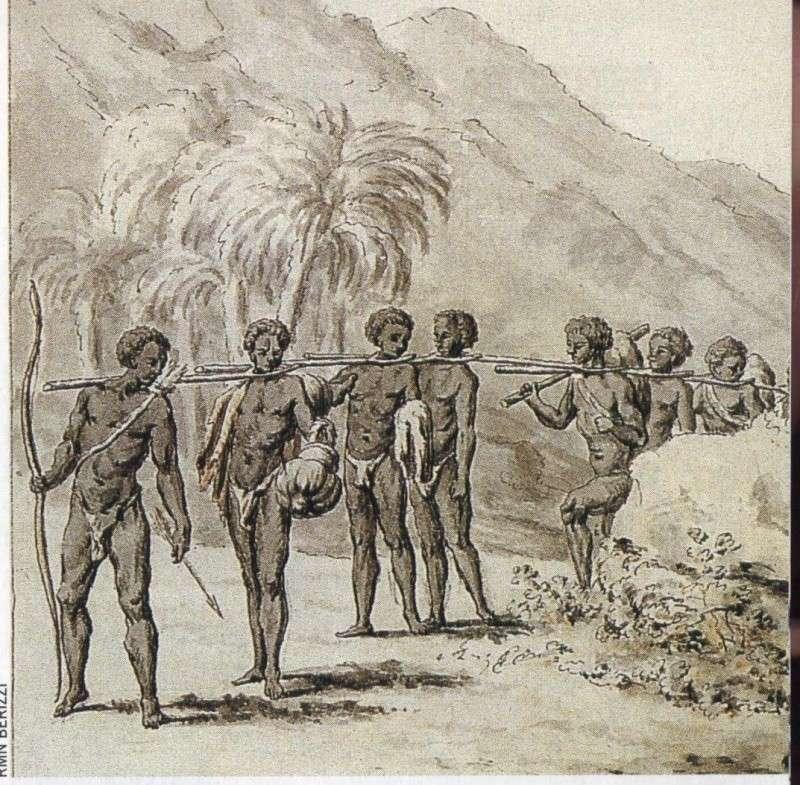 Outre-mer, les îles à sucre, l'esclavage...  0061610