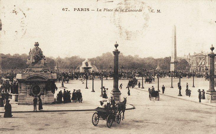 La place Louis XV, puis place de la Révolution, puis place de la Concorde au XVIIIe siècle - Page 2 081pla10