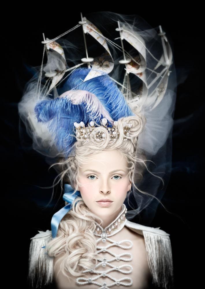 Les coiffures au XVIIIe siècle  100010