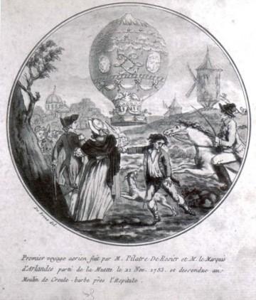 La conquête de l'espace au XVIIIe siècle, les premiers ballons et montgolfières !  - Page 2 16932010