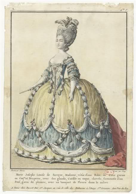 Marie-Joséphine de Savoie, comtesse de Provence 205fsq10