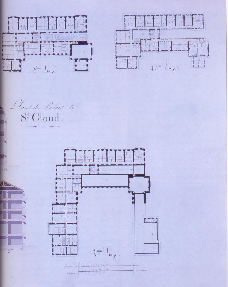 Le château de Saint-Cloud 44444411
