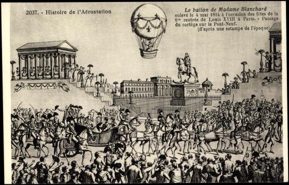 La conquête de l'espace au XVIIIe siècle, les premiers ballons et montgolfières !  - Page 2 49466511