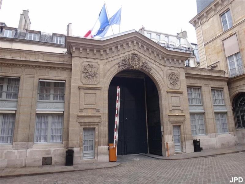 L'hôtel de Toulouse, demeure du duc de Penthtièvre et de la princesse de Lamballe, Paris 4ooooo10