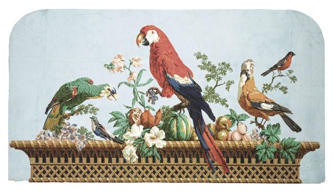 Papiers peints de rêve au XVIIIe siècle 58141610