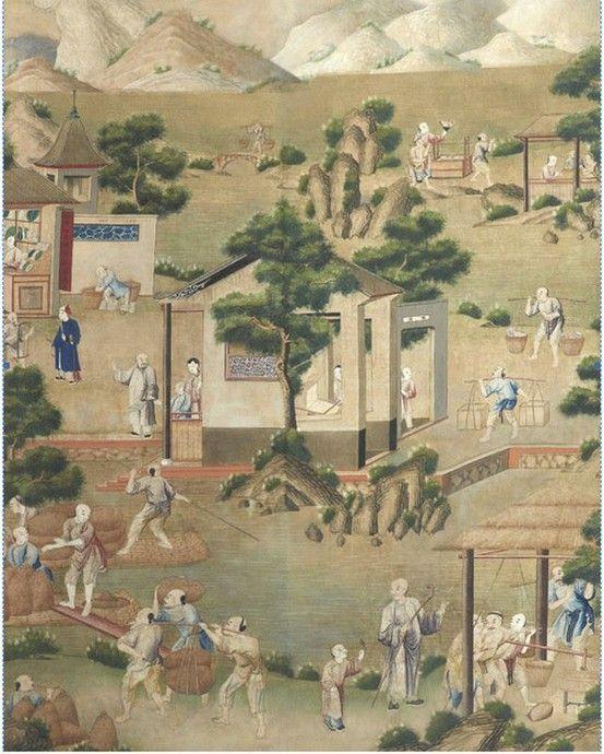 Papiers peints de rêve au XVIIIe siècle 82005410