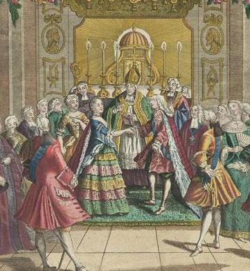 Le mariage de Louis XVI et Marie-Antoinette  9a011d10