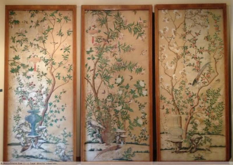 Papiers peints de rêve au XVIIIe siècle Antics12
