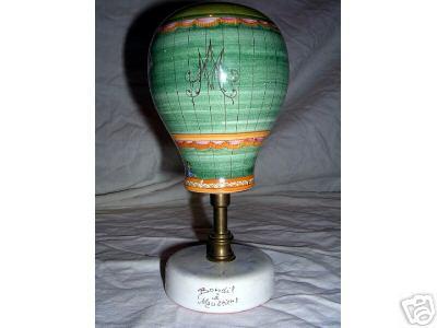 La conquête de l'espace au XVIIIe siècle, les premiers ballons et montgolfières !  Ballon10