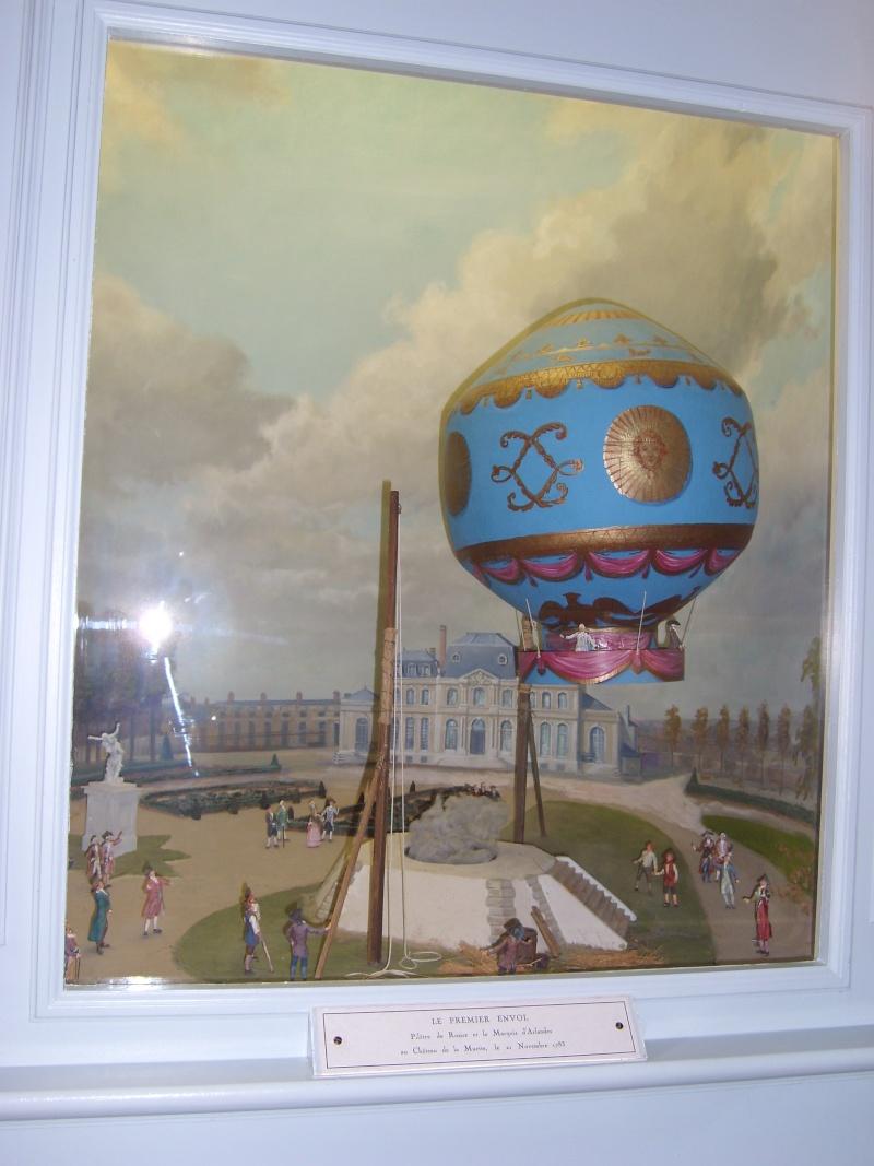 La conquête de l'espace au XVIIIe siècle, les premiers ballons et montgolfières !  Ballon13