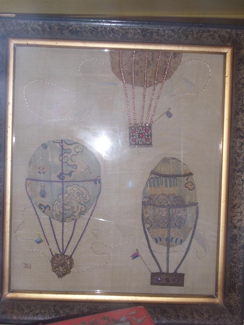 La conquête de l'espace au XVIIIe siècle, les premiers ballons et montgolfières !  Ballon16