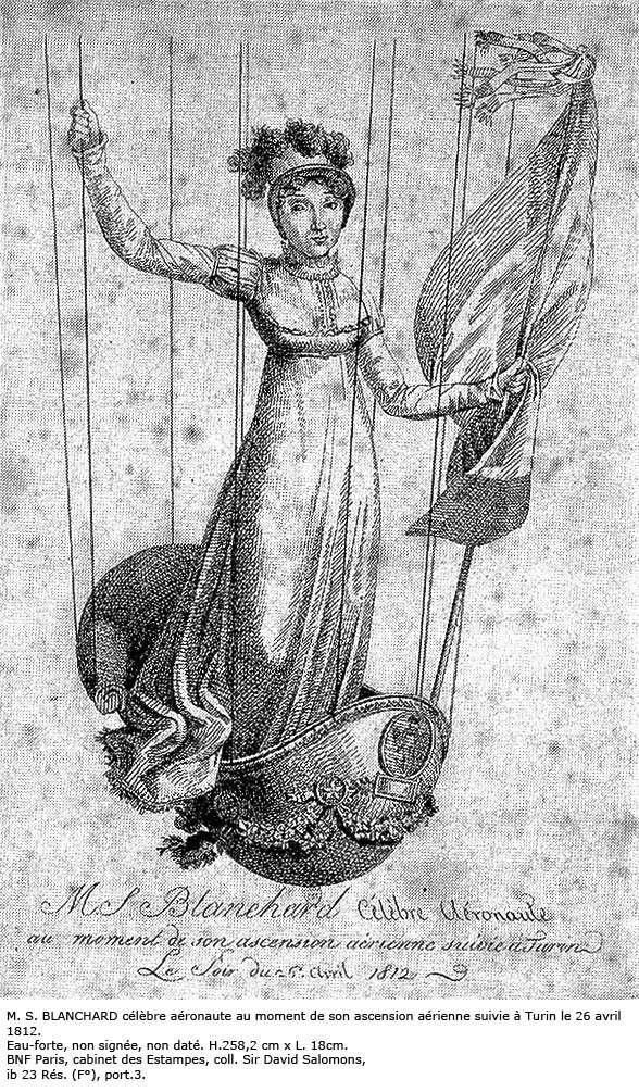 La conquête de l'espace au XVIIIe siècle, les premiers ballons et montgolfières !  - Page 2 Blanch10