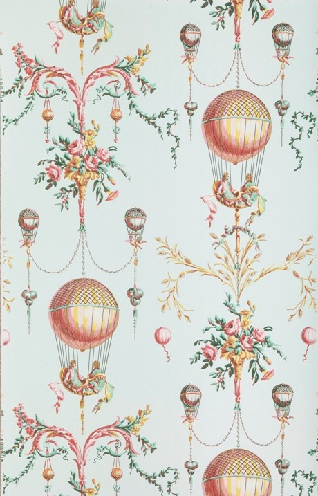 Papiers peints de rêve au XVIIIe siècle Bp300010