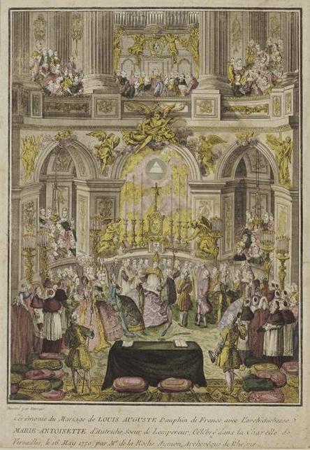 Le mariage de Louis XVI et Marie-Antoinette  Caramo11