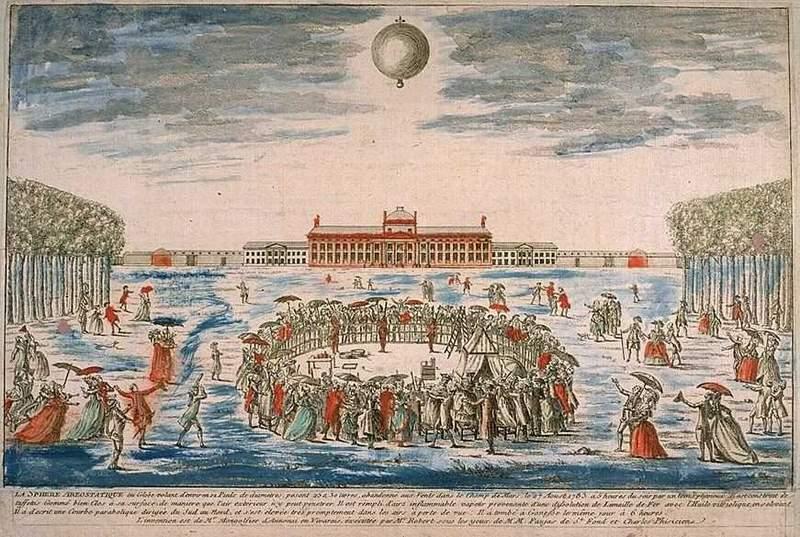 La conquête de l'espace au XVIIIe siècle, les premiers ballons et montgolfières !  - Page 2 Charle10