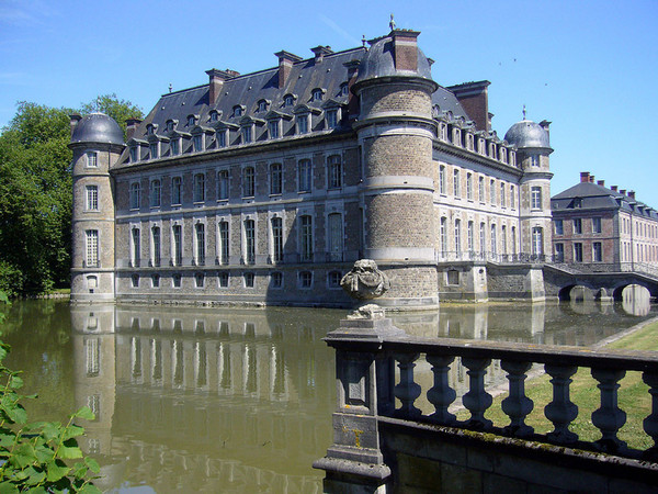 Le château de Belœil Chatea13