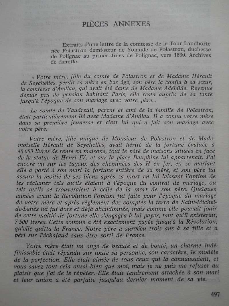 La duchesse Jules de Polignac - Page 2 Clemen10