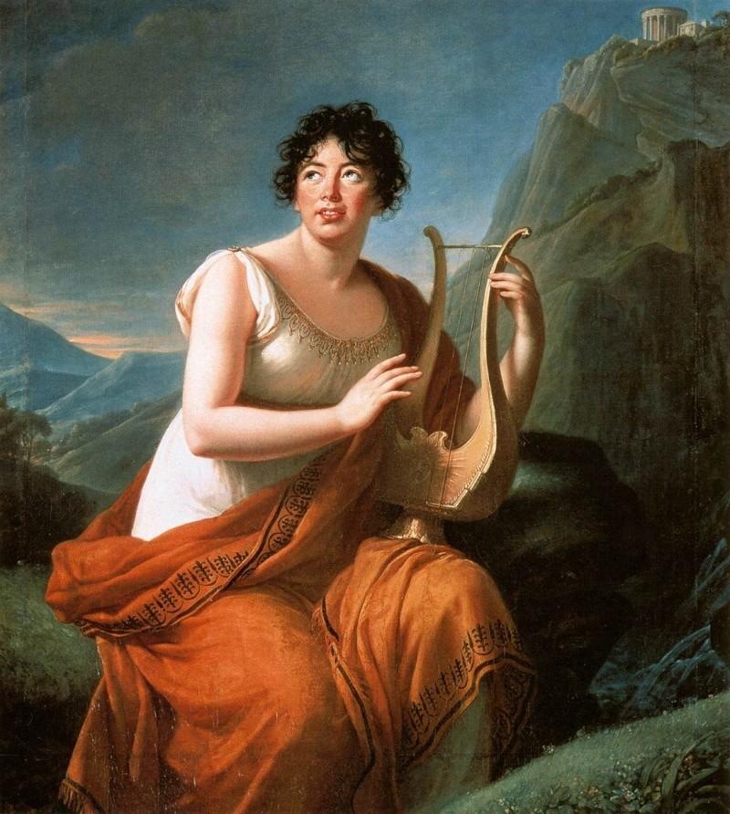 stael - La baronne Germaine de Staël Elisab10
