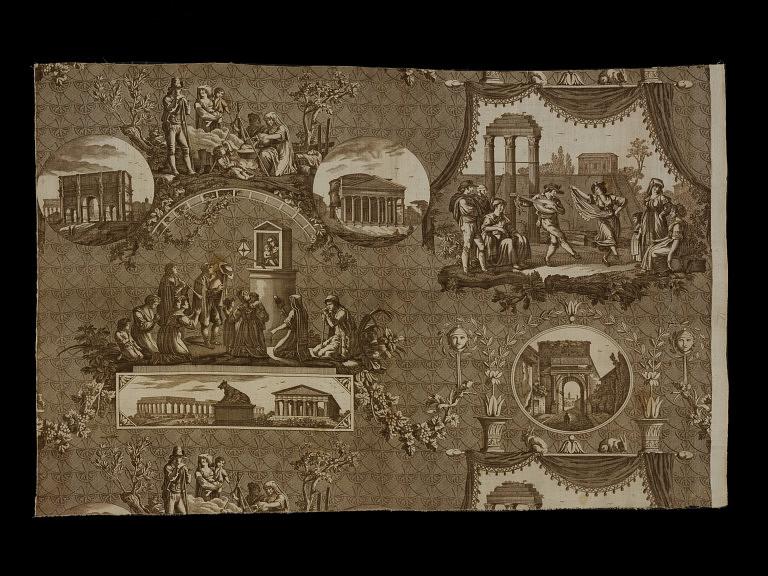 Les toiles de Jouy et la manufacture de Christophe-Philippe Oberkampf F10