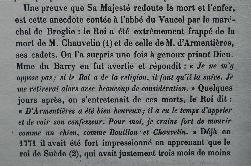 La mort de Louis XV Femmes10