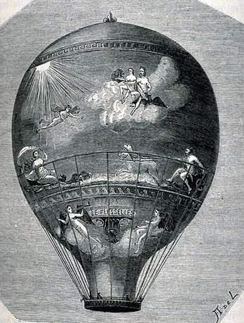 La conquête de l'espace au XVIIIe siècle, les premiers ballons et montgolfières !  - Page 2 Flesse10
