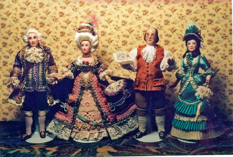 Mannequins et poupées de mode au XVIIIe siècle Group410