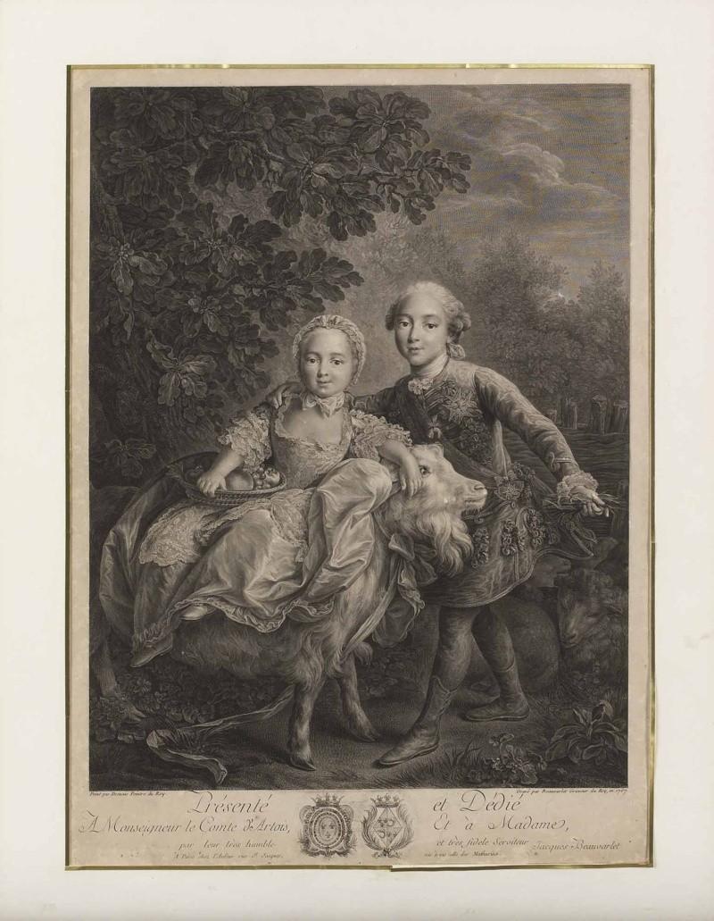 """La princesse Clotilde de France, dite Madame Clotilde, """"Gros Madame"""" Jacque11"""
