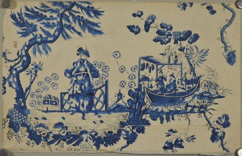 Papiers peints de rêve au XVIIIe siècle M0044810