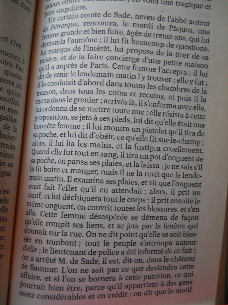 Le marquis de Sade - Page 4 Madame14