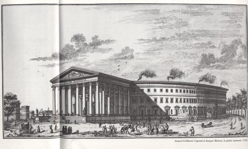 La place Louis XV, puis place de la Révolution, puis place de la Concorde au XVIIIe siècle Madele10