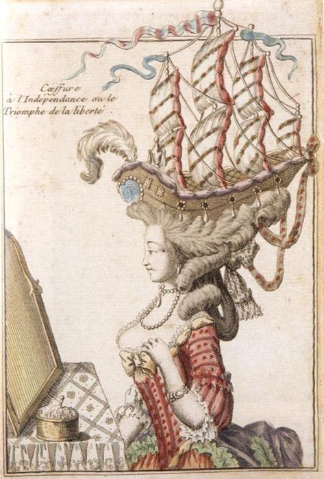 Les coiffures au XVIIIe siècle  Marie-14