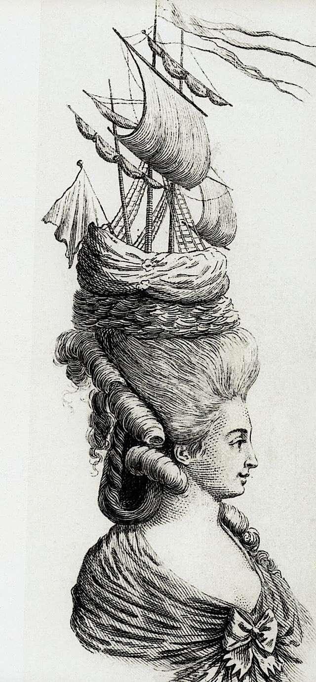 Les coiffures au XVIIIe siècle  Marie_18