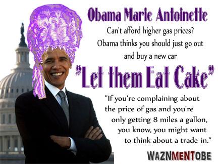 Qu'on leur donne de la brioche / Let them eat cake Obamal10