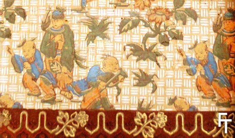 Papiers peints de rêve au XVIIIe siècle Papier10