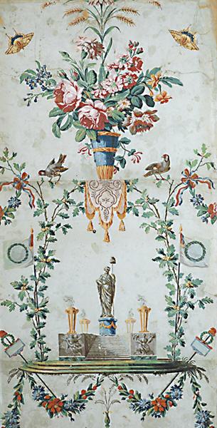 Papiers peints de rêve au XVIIIe siècle Papier14