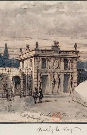 Marly - Le domaine et château de Marly - Page 2 Pavill10