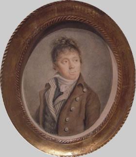 Louis-Auguste Brun, portraits de Marie-Antoinette en tenue de chasse Portra10