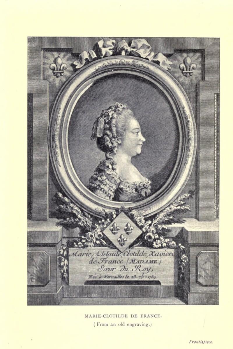 """La princesse Clotilde de France, dite Madame Clotilde, """"Gros Madame"""" - Page 3 Sister10"""
