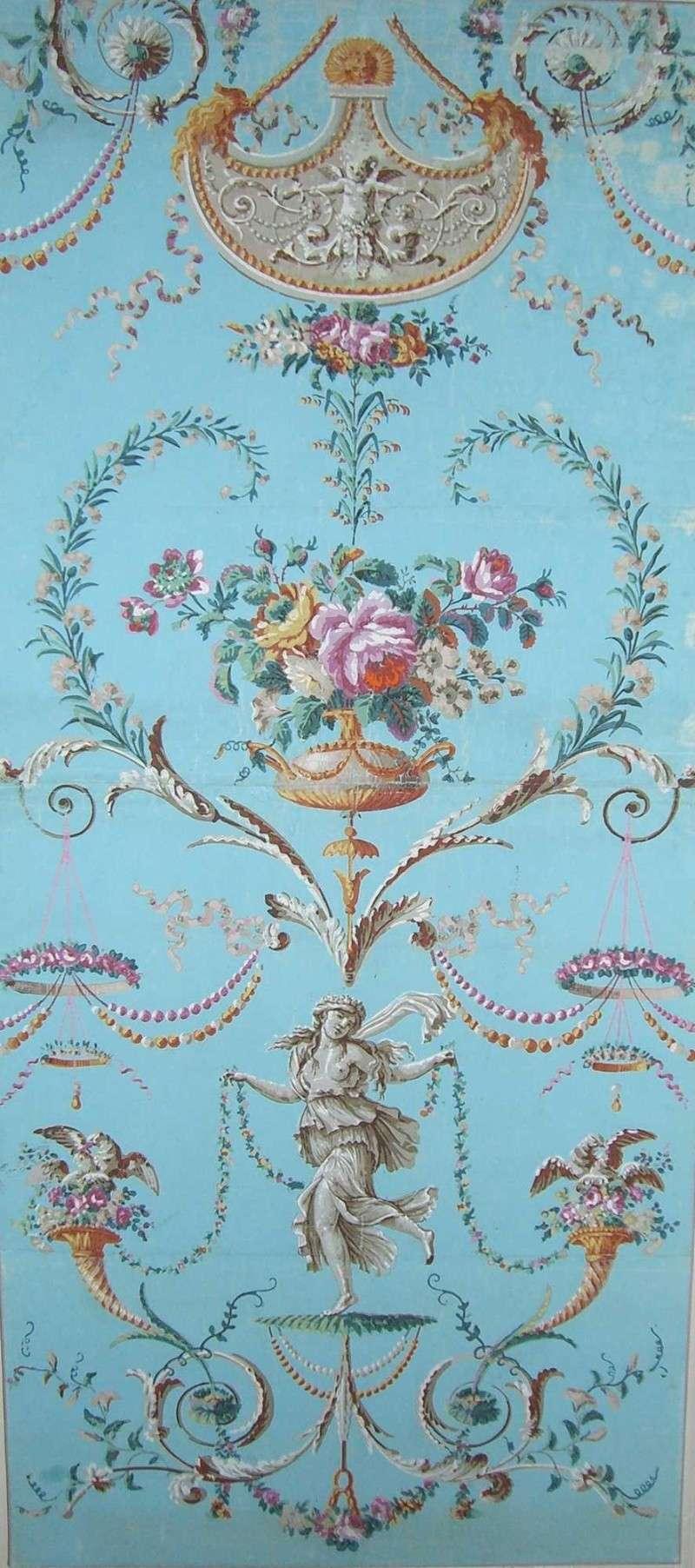 Papiers peints de rêve au XVIIIe siècle Thibau10