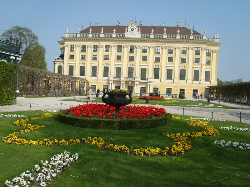 Le palais de Schönbrunn Vienn113