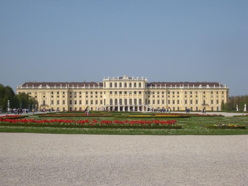 Le palais de Schönbrunn Vienn117