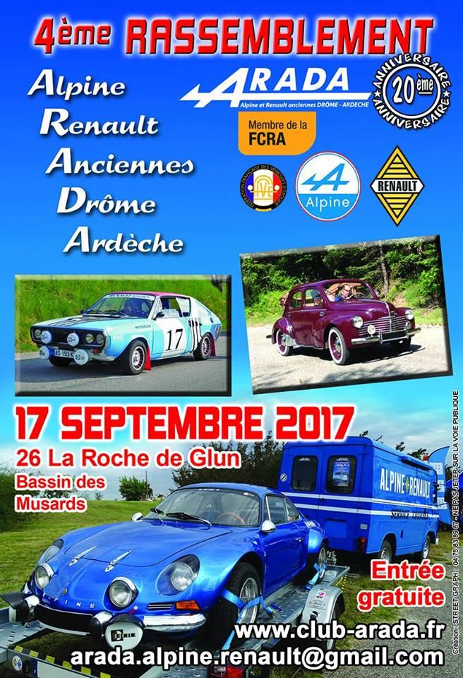 [26] [17/09/2017] 4ème Rassemblement ARADA La Roche de Glun 16508610